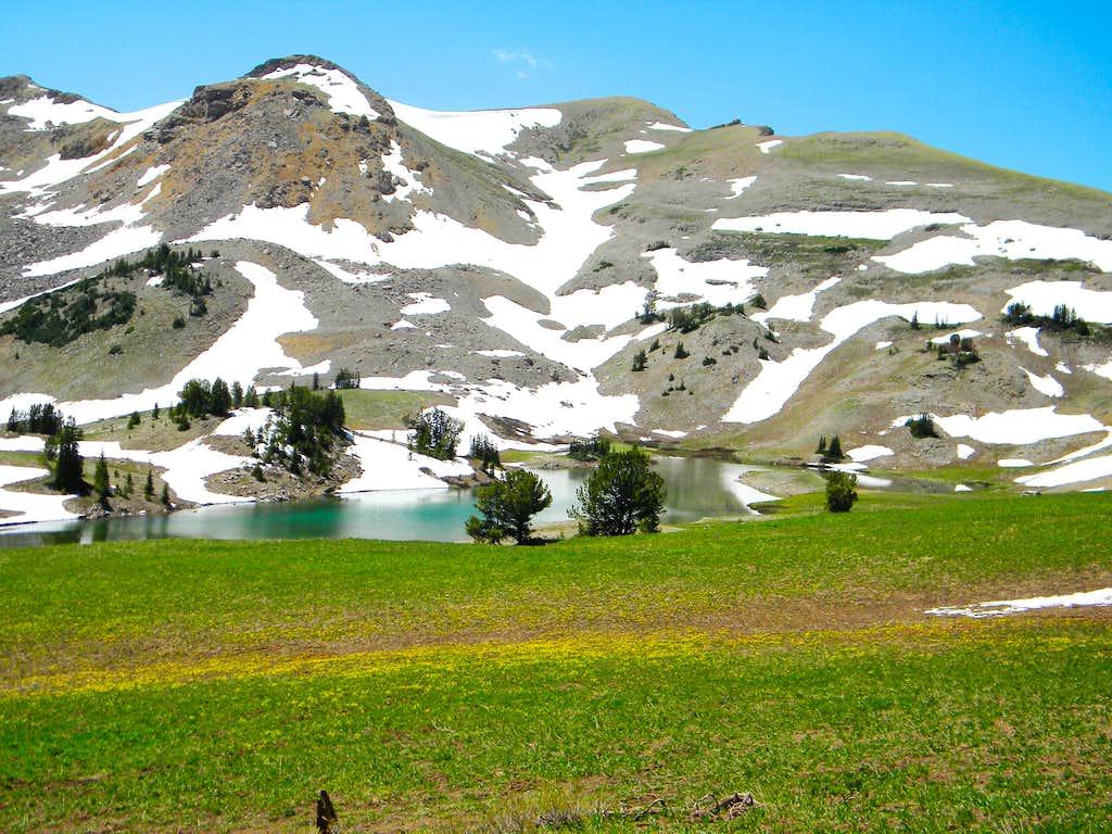 Unnamed Lake Below the North Ridge