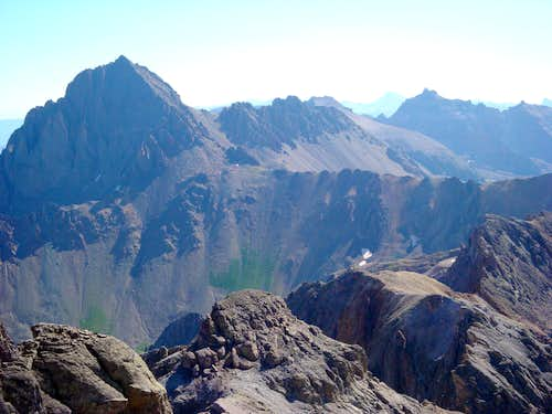 Mount Sneffels, Tea Kettle and Coffee Pot