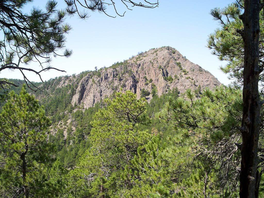 The Summit of Inyan Kara