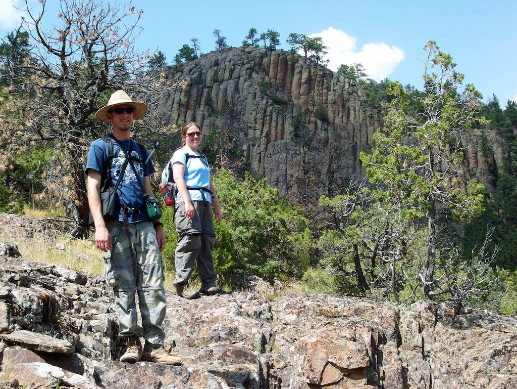 Columnar Basalt at Inyan Kara Mountain