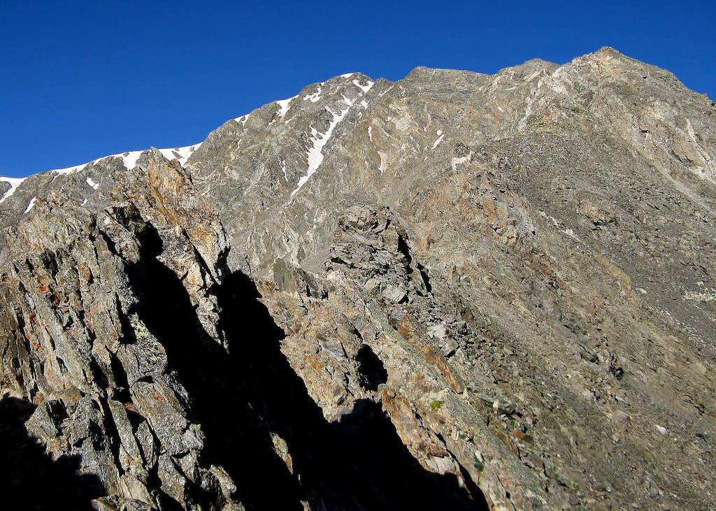 Kelso Ridge on Torreys Peak