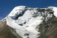 The ridge and the two peaks from Nimaling