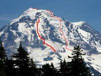 my ski accomplishments rainier 7-3/4/09