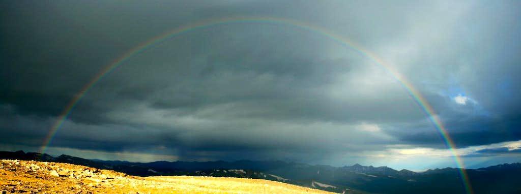 Rainbow from Chiquita's Summit