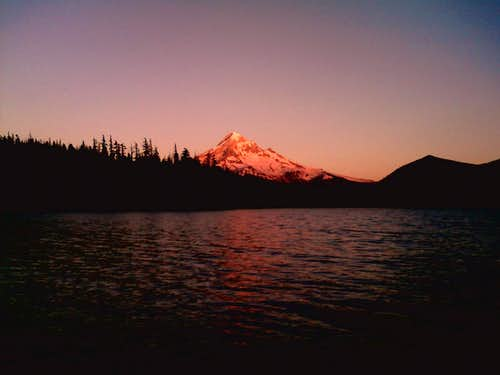 A Profile Study: Mount Hood, Oregon