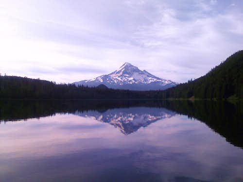 Another Mount Hood shot from Lost Lake