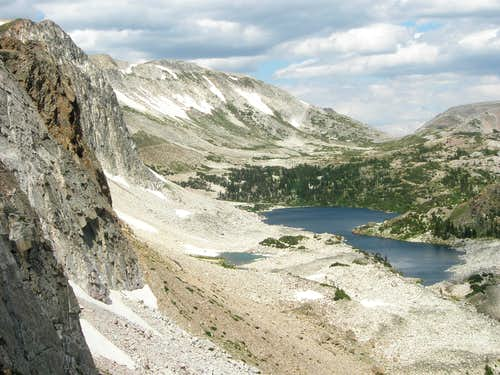 Lookout Lake and Medicine Bow Peak