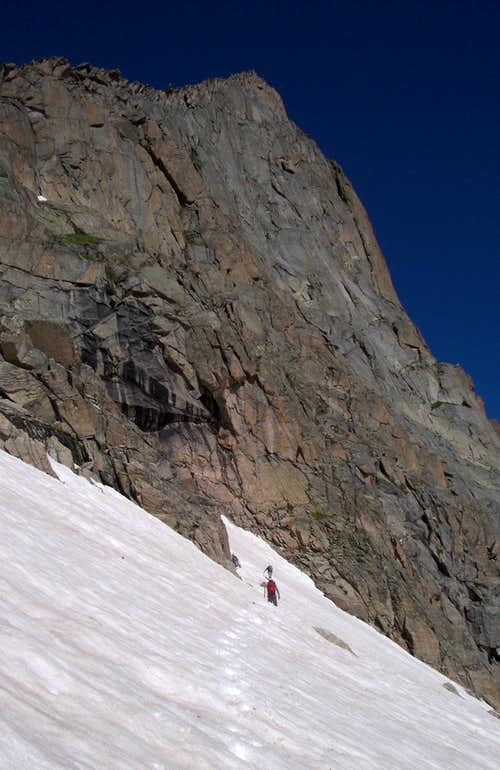 entering the couloir