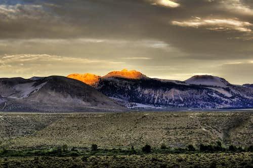 Crater Mountain Sunset