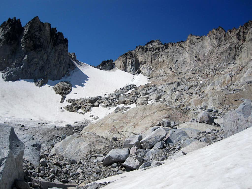 East Ridge / Snow Creek Glacier