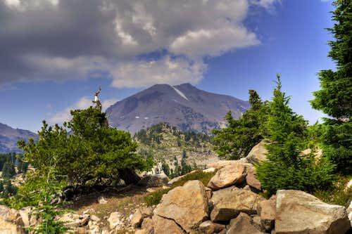 Lassen from Bumpass Mountain