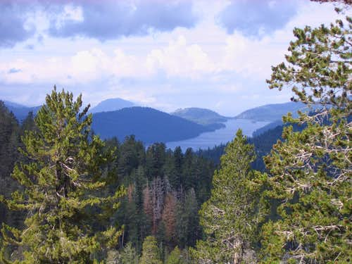 Huntington Lake from Ershim OHV Trail