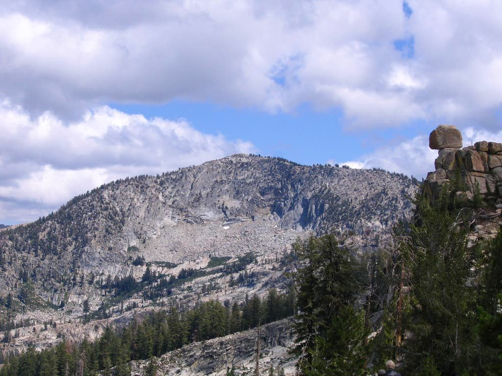 Mount Givens from the White Bark Vista Point