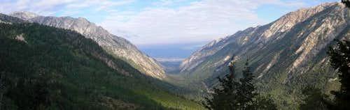 Little Cottonwood/Salt Lake Valley Pano