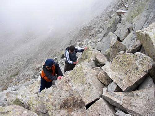 Pheifferhorn's Knife Ridge