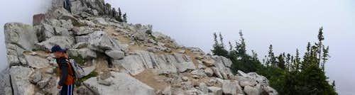 Pheifferhorn Ridge Pano