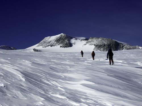Summit day on Vinson