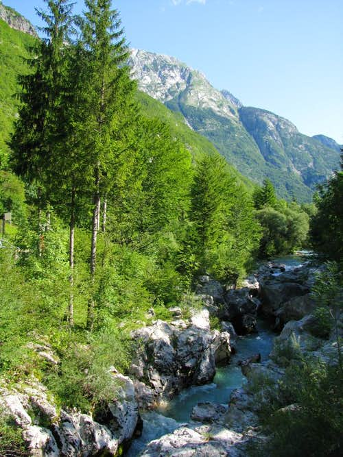 Soca and Bavski ridge