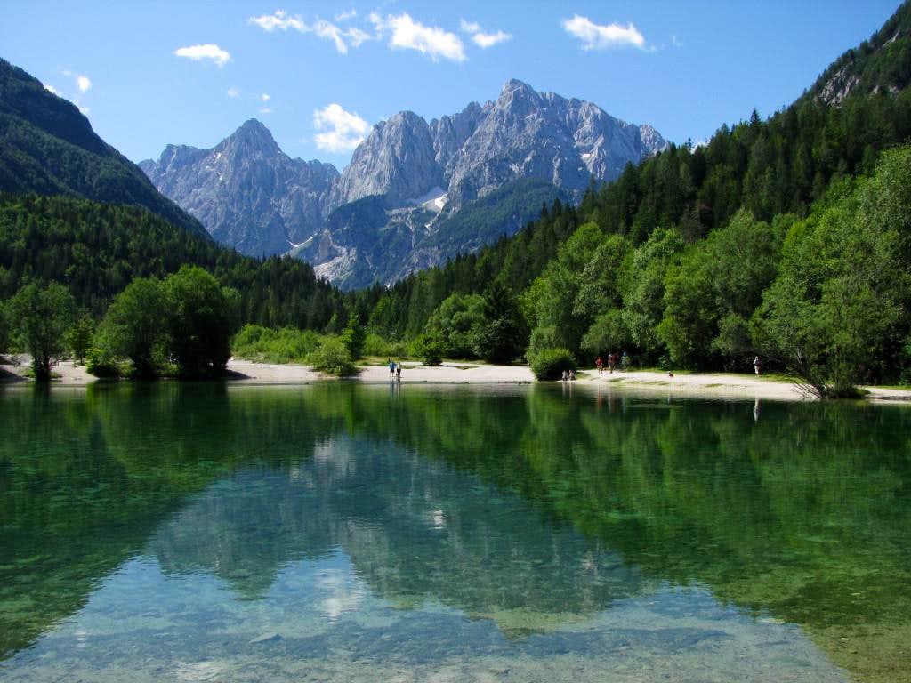 Little pond in Kranjska Gora