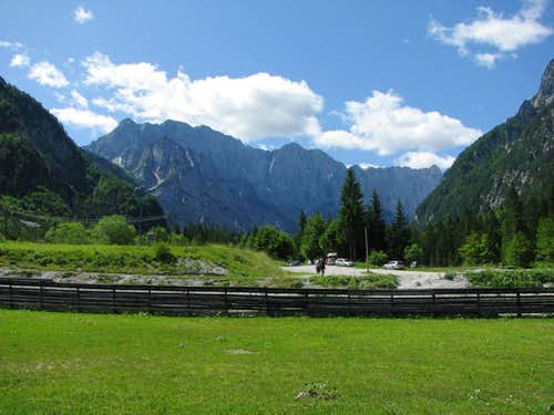 Mojstrovka from Planica