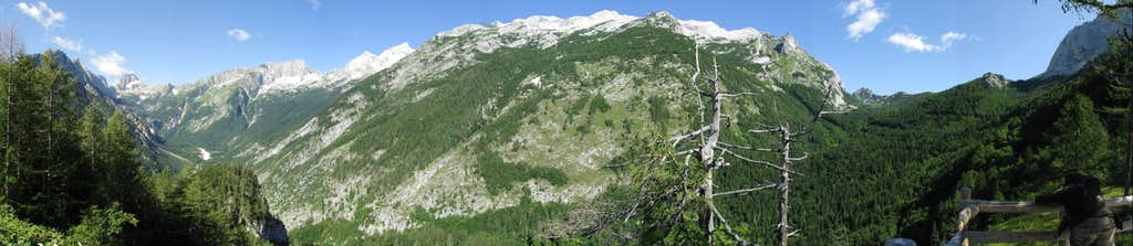 Panorama from Supca