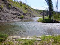 Our Fishing Hole on the N. Fork Sun River