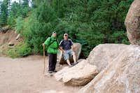 Boulder field base