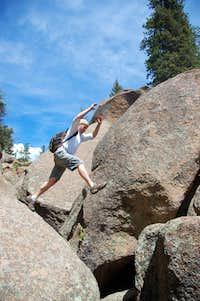 Boulder leap