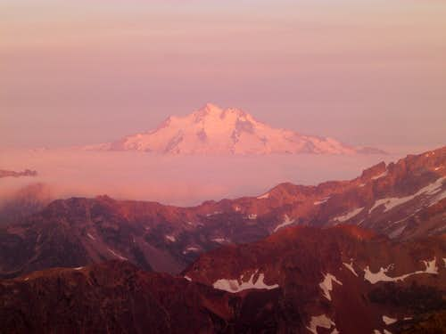 Glacier Peak from the Summit of Fernow
