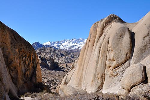 Crags of The Buttermilks Area