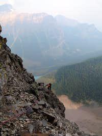 nice views on the quartzite rib