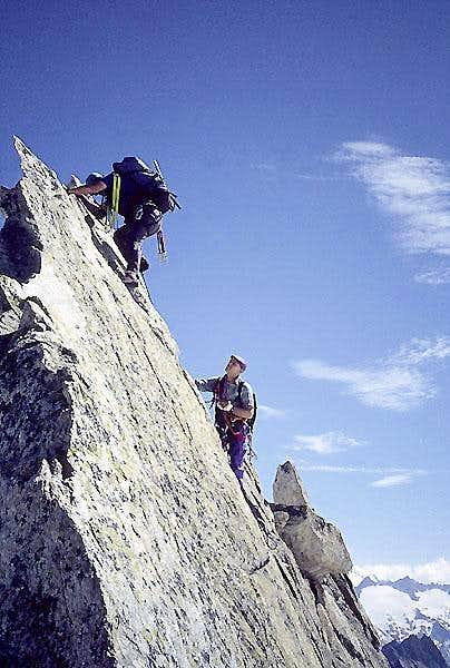 E Ridge Grosser Diamantstock