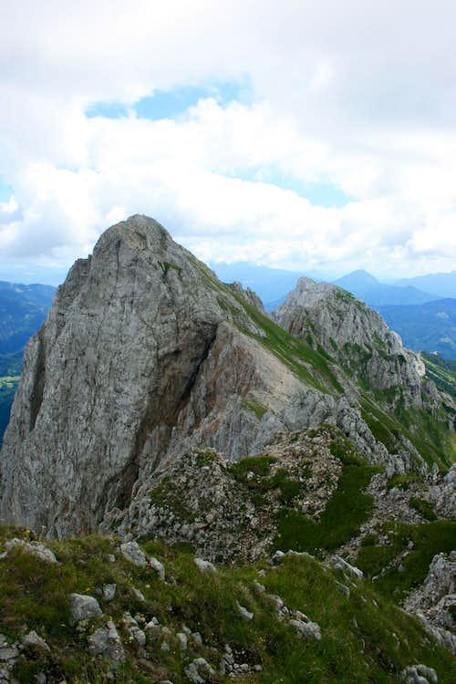 Koschutnikturm, 2.136m