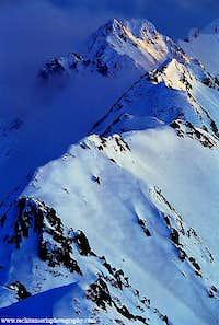 Albota Ridge in The Transylvanian Alps