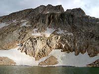 Hawksbeak Peak from Kirkwood Lake