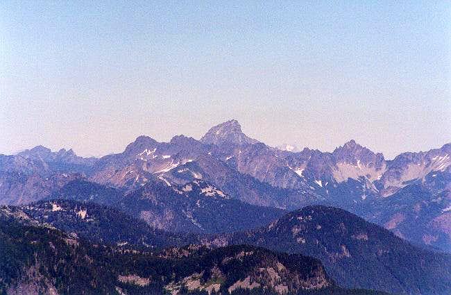 Sloan Peak as viewed from Mt....