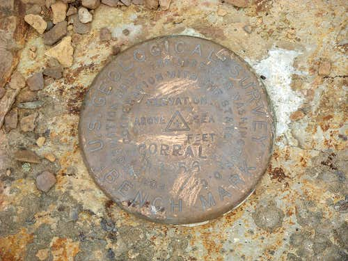 Corral Butte Benchmark