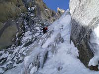 fun climbing in the Supercouloir