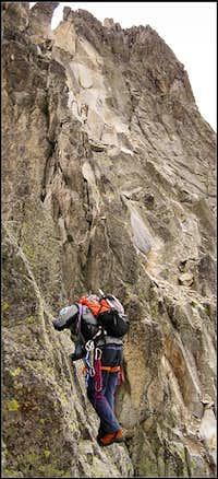Salenques-Tempestades ridge. Aneto. 2006.07.07