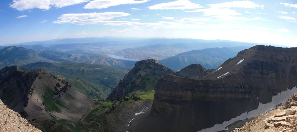 Heber Valley from Mount Timpanogos