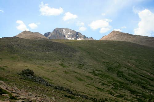 Lady Washington, Longs Peak, and Storm Peak