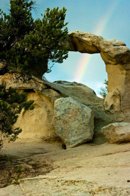 Window Arch Rainbow