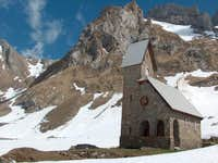 Church on the Meglisalp. May...