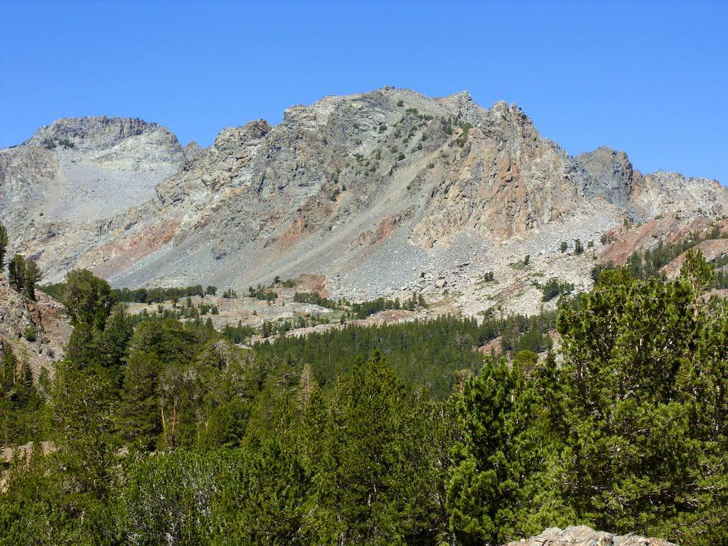 Peak 11568 and Peak 11381 - Virginia Lakes