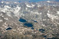 Titcomb Basin Aerial