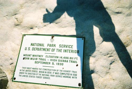 High Point marker shadow