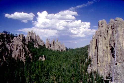 On approach to Harney Peak,...