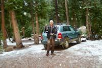 Snow at Spirit Lake