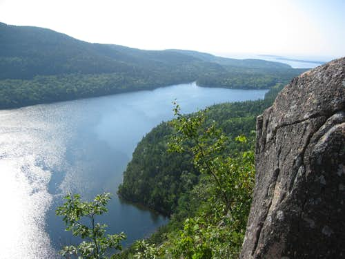 Another view of Jordan Pond