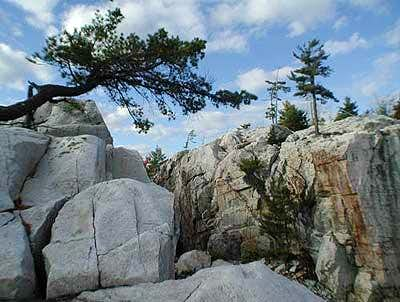 A veritable rock playground.